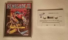 Amstrad: Renegade III The Final Chapter (Cassette Spain)  Here it comes the one that really was the final chapter of the Renegade series.  I liked this less than the previous one. Not featuring cooperative play was a nuisance and the travel-through-time idea was not very appealing. However it's a quite good game from a technical perspective.  Tags:  #retrogaming #retrogames #sinclair #zxspectrum #spectrum #renegade #nekketsukouhakuniokun #kuniokun #targetrenegade #renegade3 #renegadeiii