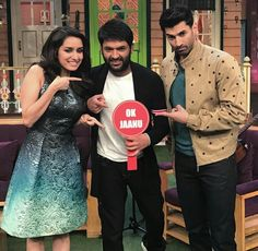 The Kapil Sharma Show 7th January 2017 Episode 72 Guest Shraddha Kapoor, Aditya Promotes OK Jaanu