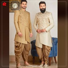 Flaunt an appealing Indo-western look in this wedding season.  To view our styles live, book your video call appointment now. For more details whats-app us on: +918511524161. #rajwadi #ethnicfashion #Indowestern #menswear #FeelRoyal #mensfashion #designer #dashing #elegant #eternal #mensgram #instamen #fashiongram #onlineshopping #fashiondaily