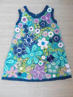 Девчоночье кружевное платье. - Вязание - Страна Мам