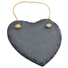 12 Heart Shaped Slate Message Boards   Wedding - Cards, Crafts, Gifts, Photo Albums and more! at The Works