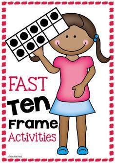 Fast Ten Frame Activities $