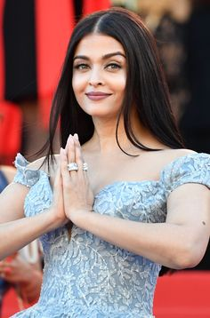 Cannes 2017: Aishwarya Rai channels her inner Cinderella in glorious blue gown   fashion and trends   Hindustan Times
