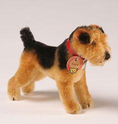 Vintage Steiff Dog Terry Terrier