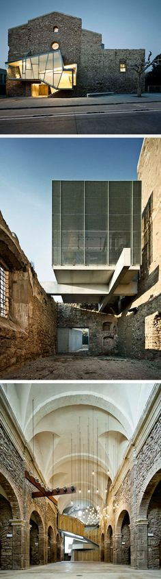 Old-Meets-New in Modern Renovation of An Old Church –from Design Milk