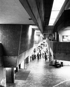 Scarborough College, Scarborough, Ontario, Canada, 1963-66