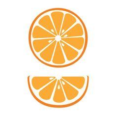 Silhouette Design Store - New Designs Cartoon Clip, Atelier D Art, Orange Design, Girl First Birthday, Fruit Art, Silhouette Design, Silhouette Studio, Cute Wallpapers, Orange Fruit