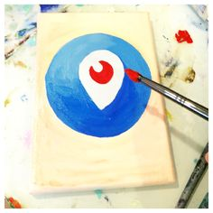 Get on Periscope already! Come join my live painting in my studio, and having art chats!  www.suzeford.com