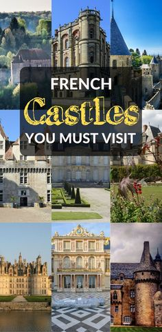 Looking for the best castles in France? Among the hundreds of French chateaux you can visit, this list lays out the most beautiful and most magical of all.   Castles in France | France things to do | Romantic things to do in France