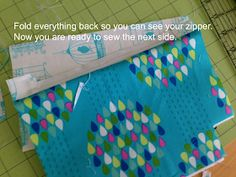 """I am excited to share the pattern for my """"Favorite Zipper Pouch"""". I needed a few gifts and whipped up some zipper pouches. I have made lots and lots of zipper bags. Small Sewing Projects, Sewing Projects For Beginners, Diy Projects To Try, Sewing Hacks, Zipper Pencil Case, Zipper Pouch Tutorial, Purse Organization, Bag Patterns To Sew, Quilted Bag"""