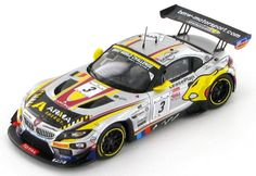 The Marc VDS Racing Team BMW Z4 as driven in the 2013 Spa - Francorchamps 24 hour race by Maxime Martin - Bas Leinders - Yelmer Buurman.
