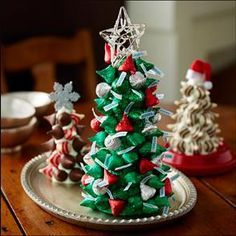 Just In Time For Christmas Edible Christmas Tree Kiss