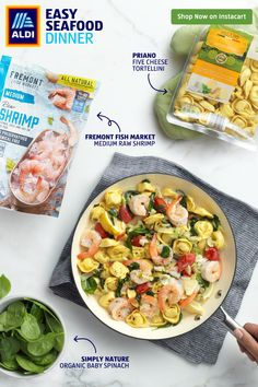Try this easy seafood dinner for fish friday or any time your family wants something simple and fresh! Cubed Beef Recipes, Crockpot Recipes Mexican, Seafood Recipes, Chicken Recipes, Cooking Recipes, Healthy Recipes, Skillet Recipes, Simple Recipes, Healthy Steak