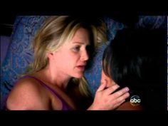 Callie Torres (Sara Ramirez) & Arizona Robbins (Jessica Capshaw)     Music: Speechless - The Veronicas