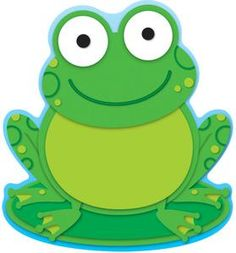 Frog Two-Sided Decoration - Carson Dellosa Publishing Education Supplies Frog Crafts, Preschool Crafts, Crafts For Kids, Frog Theme Classroom, Classroom Decor, Colorful Notes, Calendar Notes, Carson Dellosa, Inspired Learning