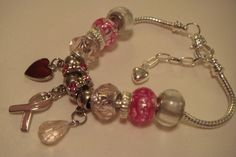 'Breast Cancer Bracelet for my Sister' is going up for auction at  9pm Tue, Aug 21 with a starting bid of $20.