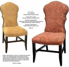 Kitchen Dining Chairs Old World Upholstery And Leather Dining Chairs