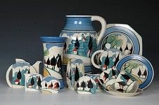 Clarice Cliff Pottery,  May Avenue