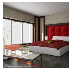 Bedroom. Bedroom. Remarkable And Delightful Interior Design For Bedrooms Styles. Small Bedroom Tan Wall Decor Featuring Gray Large Rug And Wall Mounted White Low Profile Bed Plus Red Bedding Sets. Interior Design For Bedrooms Ideas. Remarkable And Delightful Interior Design For Bedrooms Styles