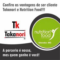 Confira as vantagens de ser cliente Takanori e Nutrition Food! A parceria é nossa, mas quem ganha é você!  #takanori #takanoribrasil #nutritionfood #nutritionfooduberaba #promocao #clienteespecial #parceria #uberaba