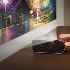 LG Ultra Short Throw LED Projector With Embedded Battery