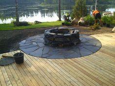 Fire Pit Landscaping, Garden Fire Pit, Outdoor Living, Outdoor Decor, Garden Structures, Summer Garden, Outdoor Projects, Dream Garden, Garden Inspiration