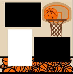 Basketball 2-page 12X12 Scrapbook Page Kit or by MemoriesByDezyn