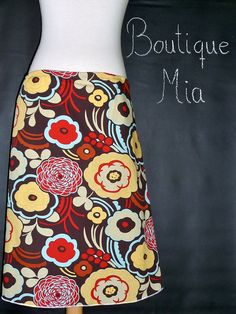 A-line SKIRT - Alexander Henry - You Pick the Size - Junior, Adult and Plus size - Boutique Mia by CXV. $36.00, via Etsy.