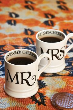 Toast & Marmalade Mr & Mrs Mugs http://www.emmabridgewater.co.uk/invt/1blt020013