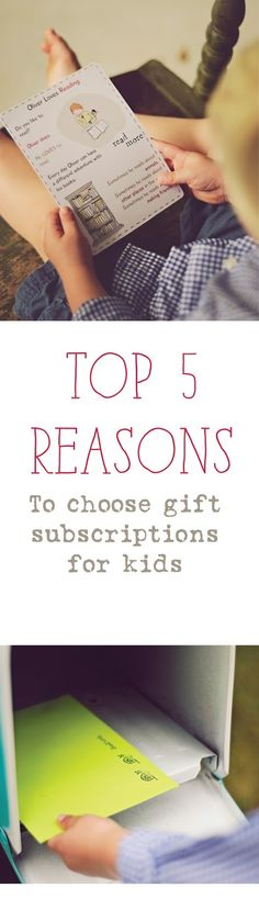 Top 5 Reasons to Choose Gift Subscriptions for Kids