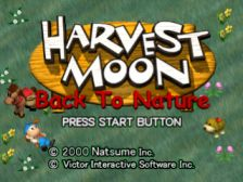 Harvest Moon: Back To Nature User Screenshot for PlayStation Harvest Moon Btn, Harvest Moon Game, Play Retro Games, Back To Nature, Play Money, Japanese Sexy, Playstation Games, Cute Stories, Old Games