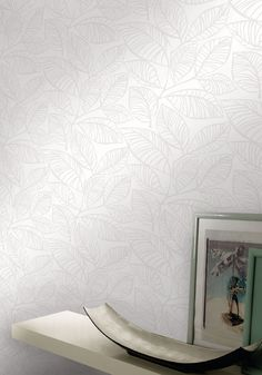 Empapelado - Hojas - Papel de parede