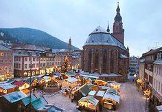 Weihnachts Markt in Heidelberg. Es gibt nichts schoeneres!