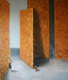 Cyprian Nocoń Nocon Definitions contemporary art painting 120x130cm