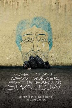 In Nyc Clever Street Drawn Portraits Highlight The Plight Of The Homeless Designtaxi Com