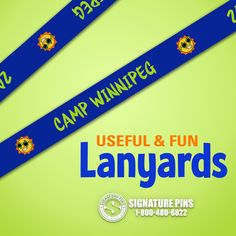 Gearing up for Summer Camp? Custom Lanyards are a great accessory to have for your young campers. Get started on a custom design for your campers now. It is a great souvenir for the memories they will have. Visit our website for a free quote at  www.signaturepins.com. Or email us at info@signaturepins.com. We can also be reached at 1-800-480-6822.  #SignaturePins  #CustomLanyards  #SummerCamp  #GearingUpForSummerCamp