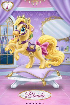 Blondie (Rapunzel's pony)