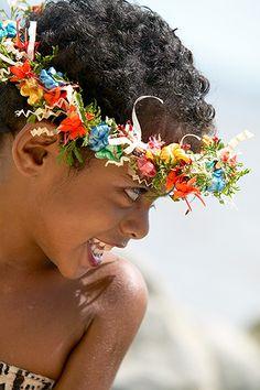 A beautiful Fijian welcome at Sonaisali Island Resort. #Sonaisaliislandresort #Fiji #Holiday #Culture