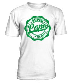 Super Papa The Best  #gift #idea #shirt #image #mother #father #mom#dad #son #papa #suppermom #supperfather #coffemugs