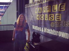 Happy #NationalWaffleDay to my favorite stadium snack at @Braves games ... @wafflehouseofficial
