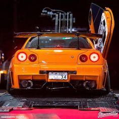 StanceNation.com Nissan Gtr R34, Slammed Cars, Lux Cars, Nissan Gtr Skyline, Nissan Silvia, Tuner Cars, Japan Cars, Stance Nation, Car Tuning
