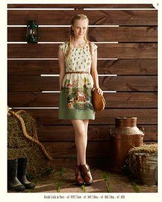 Vestido Estufa de Flores
