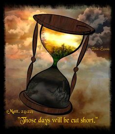 Matthew 24:21 for then there will be great tribulation such as has not occurred since the world's beginning until now, no, nor will occur again. 22 In fact, unless those days were cut short, no flesh would be saved; but on account of the chosen ones those days will be cut short