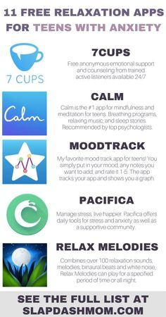 11 Free Relaxation Apps for Teens With Anxiety