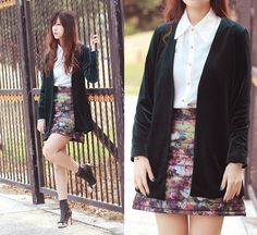What a skirt! (by Mayo Wo) http://lookbook.nu/look/4498779-what-a-skirt