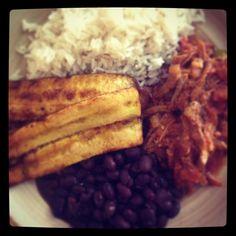 Pabellon, Venezuelan food