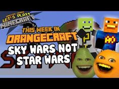 Annoying Orange Let's Play Minecraft - SKY WARS NOT STAR WARS - http://www.viralvideopalace.com/realannoyingorange/annoying-orange-lets-play-minecraft-sky-wars-not-star-wars/