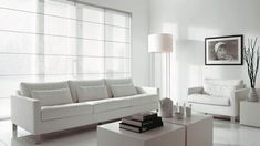 Transparent roman shades for large windows