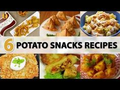 6 must try Potato snacks recipes by Food Fusion - YouTube