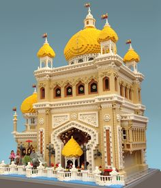 "https://flic.kr/p/uJENsG | Coney Island - Egyptian Pavillion | ""Come one, come all! See ""Little Egypt"", the dancing sensation from the Orient! See her mesmerizing moves! Her scintillating gyrations! Admission only ten cents!"" This is part of my LEGO Coney Island project. It is a multi-year build where I will be recreating the iconic amusement district of Coney Island, Brooklyn, New York as it might have looked during the years 1900-1920"